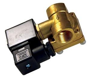"Kleinn Air Horns VX6004 (Vortex 6) 1/2"" 12V Brass Air Valve"