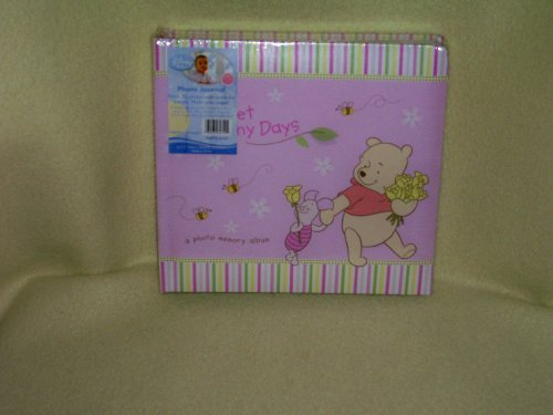 Disney Winnie the Pooh Baby Photo Journal (For a Girl)