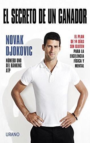 Portada del libro El secreto de un ganador de Novak Djokovic