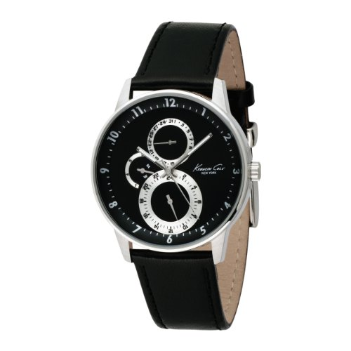 Kenneth Cole New York Men's KC1460 Dress Multi-Function Leather Watch