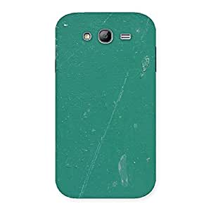 Enticing Green Paint Crack Print Back Case Cover for Galaxy Grand