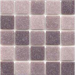 ice purple blend glass purple mosaic tile kitchen bathroom backsplash