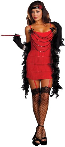 Women's Costume: Ruby Red Hot- Small