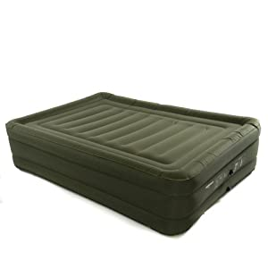 Smart Air Beds Raised Ultra Tough Inflatable Mattress with Rechargeable Pump by Smart Air Beds