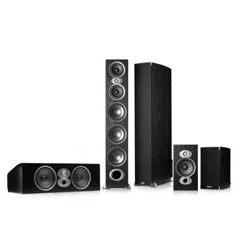 Polk Audio Rti A9 5.0 Home Theater Speaker Package (Black)