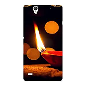 Special Positive Enlight Back Case Cover for Sony Xperia C4