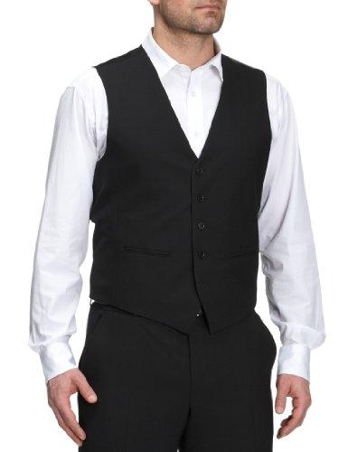 Benvenuto Men's Sleeveless Jacket Black 52