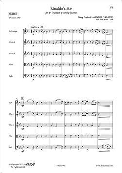 partition quatuor trompette