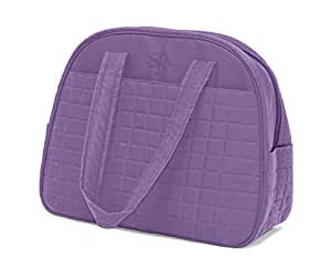 Gaiam Purple-Metro Gym Bag