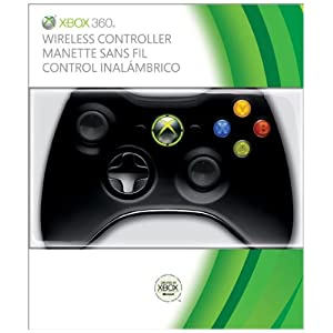 Xbox 360 Wireless Controller &#8211; Glossy Black