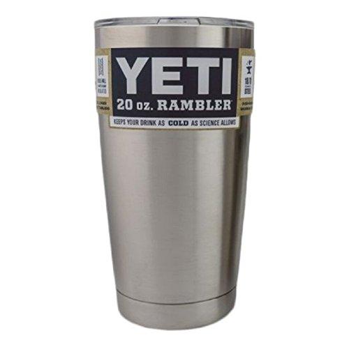 Yeti Rambler Tumbler Set - Stainless Steel 30 oz, 20 oz, and Colster Bundle