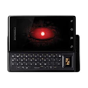 Motorola Droid A855 CDMA (Black) QWERTY Android Touch-Screen Smart Phone