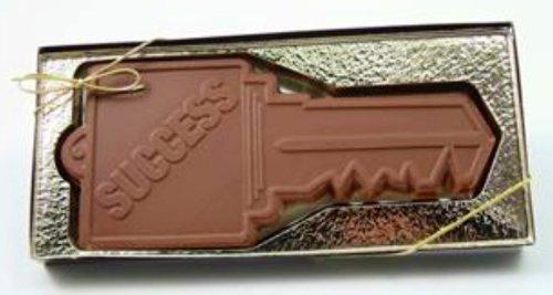 Solid Milk Chocolate Congratulations Success