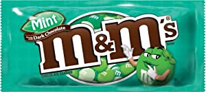 M&M's Dark Chocolate Mint, 11.4 Ounce