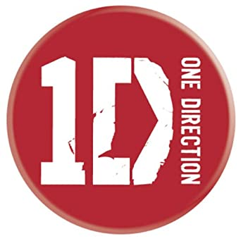 One Direction Band Logo Official 1 x 25mm Badge: Amazon.co ...