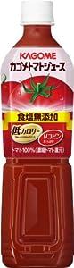 カゴメ トマトジュース食塩無添加 スマートPET 720ml×15本