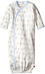 Magnificent Baby Baby-Boys Yoga Monkey Gown, Boys Yoga Monkies, New Born