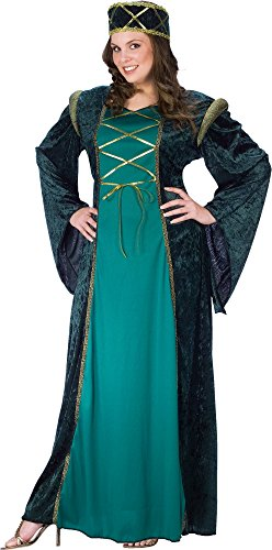 Lady in Waiting Adult Costume - Renaissance - Size:Plus 16-20