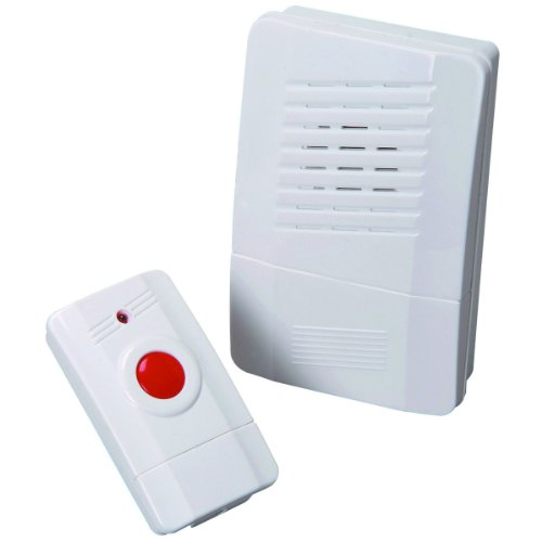 ZEEES Z4650C300/97004 Premium Wireless Doorbell Chime and Push Button