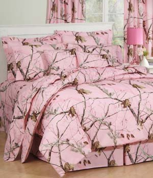 Pink Realtree Bedding 6893 front