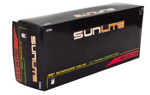 Sunlite Thorn Resistant Schrader Valve Tube, 26 x 1.90-2.35