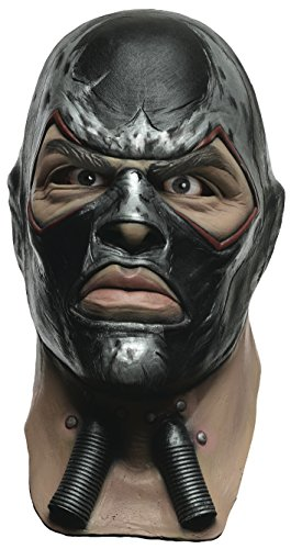 Rubie's Costume Men's Arkham City Adult Deluxe Overhead Latex Bane Mask