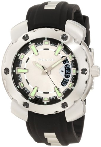 police-citation-x-gents-black-and-stainless-steel-strap-watch-with-grey-dial