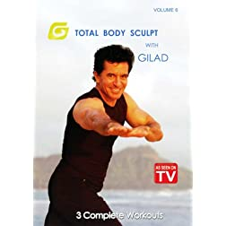 Total Body Sculpt with Gilad, Volume 6