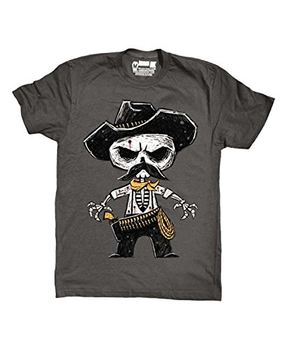 Akumu Ink -  T-shirt - Collo a U  - Maniche corte  - Uomo Grey Large