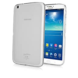 Galaxy Tab 3 8.0 Case, BoxWave® [Arctic Frost Crystal Slip] Flexible, Form Fitting, TPU Case for Samsung Galaxy Tab 3 8.0 - Frosted Clear