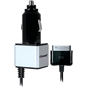 AWM Isound Isound-2147 Car Charger Pro For Ipad(R), Iphone(R) & Ipod(R) - Chargers