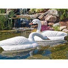 Flambeau 5889LO Floating Swan, 2-Pack by Flambeau