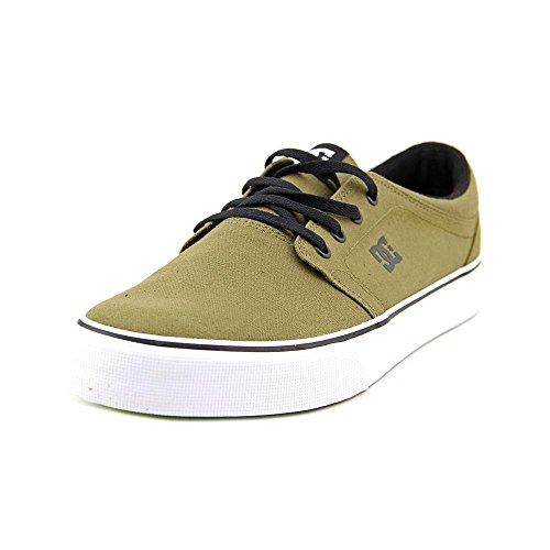 DC Mens Trase TX Skateboarding Shoes Dark Olive