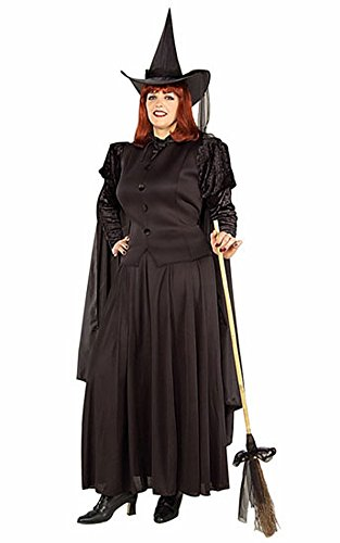Classic Witch Adult Plus Halloween Costume - Adult Plus