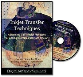 Inkjet transfer techniques by bonny lhotka gelatin and gel transfer