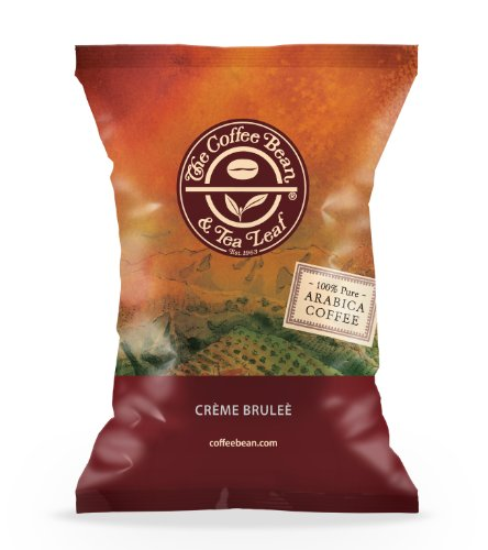 The Coffee Bean & Tea Leaf Coffee Portion Pack, Creme Brulee, 24 Count (Pack Of 24)