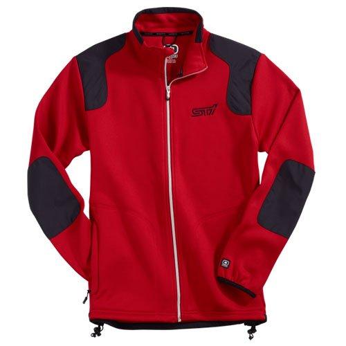 genuine-subaru-mens-sti-ogio-fleece-jacket-size-medium