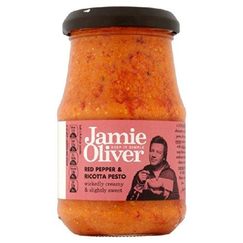 Jamie Oliver Red Pepper & Ricotta-Pesto 6 x 190g