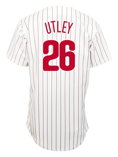 Chase Utley Philadelphia Phillies Replica Home Jersey (X-Large) at Amazon.com