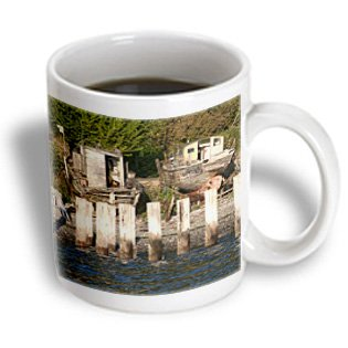 Danita Delimont - Boats - Usa, Washington, Puget Sound, Old Pier And Boats - Us48 Tdr0970 - Trish Drury - 11Oz Mug (Mug_148684_1)