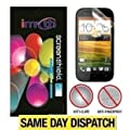 *PACK OF 6* HTC One SV Anti-Glare (Matte) Screen Protectors Retail Packed & Cloth + App. Card