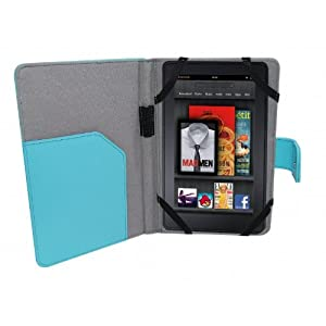 Kindle Cover With Light Blue