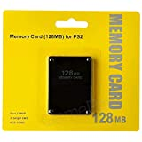 Memory Card for Playstation 2, 128MB High Speed Memory Card for Sony PS2 (1 Pack)