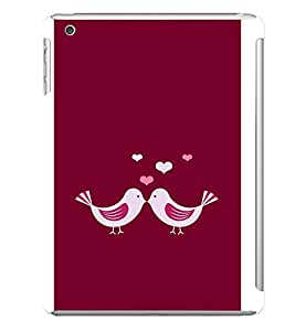 LOVE BIRDS Designer Back Case Cover for Apple iPad Mini
