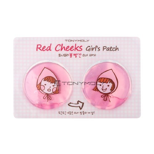 Tonymoly Red Cheeks Girls Patch (5Ea)