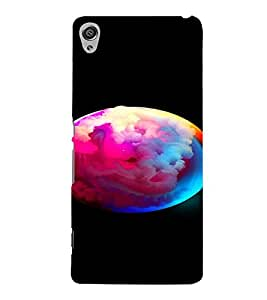 PrintVisa Modern Art Cloudy Earth 3D Hard Polycarbonate Designer Back Case Cover for Sony Xperia XA