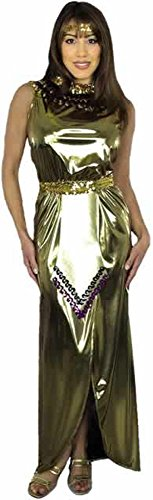 Adult Lame Cleopatra Costume (Size: X-Large 14-16)