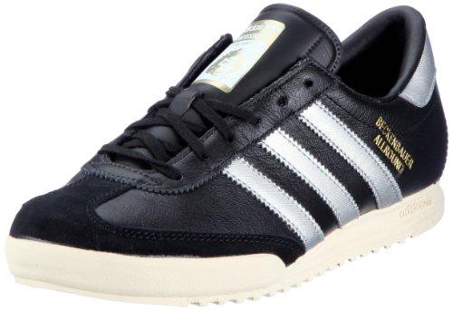 Adidas Beckenbauer Schuhe black-metallic silver - 42
