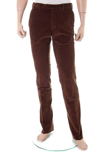 POLO by RALPH LAUREN Cord Trousers / Pants brown, Size 36''R - Paeppy Fit - SG3WH