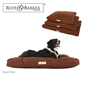 "Ruff & Barker® Large (41"") Dog Bean Bag - BROWN Faux Suede Bean Bags for Dogs - Large / Medium Dogs from Ruff & Barker®"